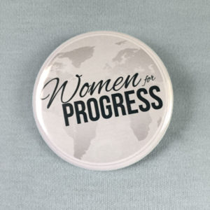 Women For Progress Member Button