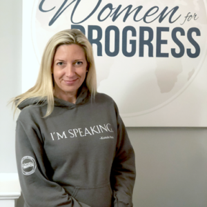 Women for Progress 'I'm Speaking' Sweatshirt