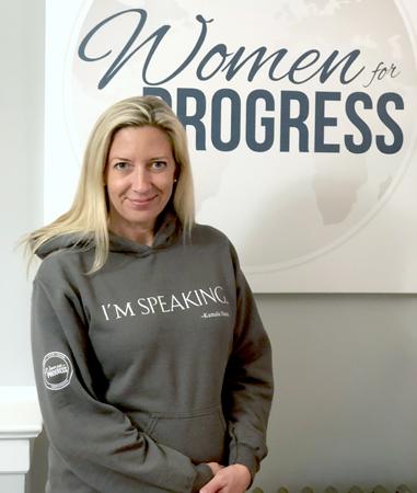 Women for Progress 'I'm Speaking' Sweatshirt